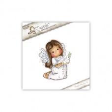 Štampiljka - Tilda With A Little Dove - Magnolia