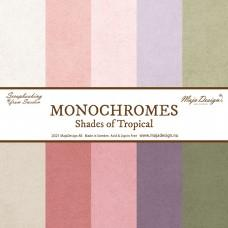 Papir - Monochromes - Shades of Tropical - Celotna Kolekcija