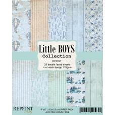 Blok Papirjev - Little Boys Collection - 6x6 - Reprint