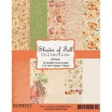 Blok Papirjev - Shades of Fall Collection - 6x6 - Reprint