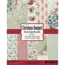 Blok Papirjev - Christmas Bouquet Collection - 6x6 - Reprint