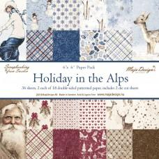 Blok Papirjev Maja Design - Holiday in the Alps - 6x6