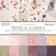 Blok Papirjev Maja Design - Tropical Garden - 6x6