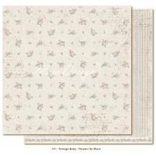 Papir - Flowers For Mum - Vintage Baby