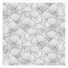 Štampiljka - Coral Flair Background - My Favorite Things