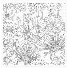 Štampiljka - Flower Field Background - My Favorite Things
