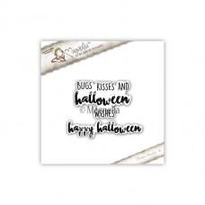 Štampiljka - Bugs Kisses & Happy Halloween Text Kit - Magnolia