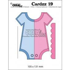 Kovinske šablone - Crea-Lies Cardzz Dies no.19 - Romper (Cardsize)