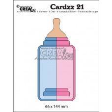 Kovinske šablone - Crea-Lies Cardzz Dies no.21 - Baby Bottle (Cardsize)