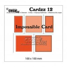 Kovinske šablone - Crea-Lies Cardzz Dies no.12 - Impossible Card