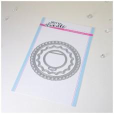 Kovinska šablona - Heffy Cuts - Fancy Nancy Frames - Heffy Doodle