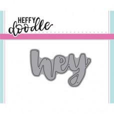 Kovinska šablona - Heffy Cuts - Hey - Heffy Doodle