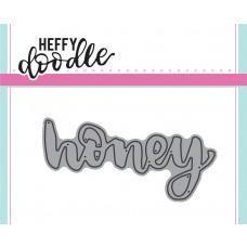 Kovinska šablona - Heffy Cuts - Honey - Heffy Doodle