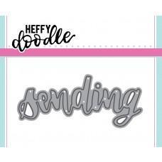 Kovinska šablona - Heffy Cuts - Sending - Heffy Doodle