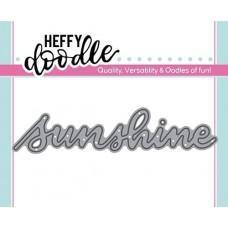 Kovinska šablona - Heffy Cuts - Sunshine - Heffy Doodle