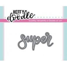 Kovinska šablona - Heffy Cuts - Super - Heffy Doodle