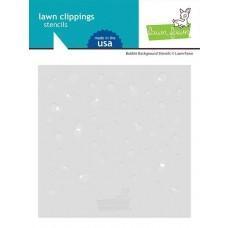 Plastične šablone - Bubble Background Stencils - Lawn Fawn