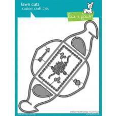 Kovinske šablone - Lawn Cuts - Gift Card Heart Envelope - Lawn Fawn