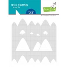 Plastična šablona - Mountain - Lawn Fawn