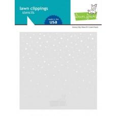 Plastična šablona - Snowy Sky - Lawn Fawn