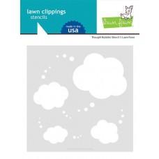 Plastična šablona - Thought Bubbles - Lawn Fawn