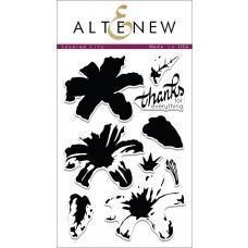 Set štampiljk - Layered Lily - Altenew