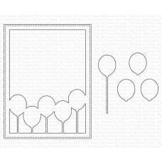 Kovinske šablone - Balloon Cover-Up Die-namics - My Favorite Things