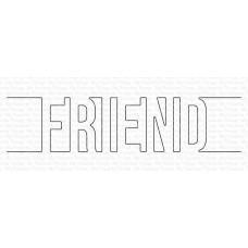 Kovinske šablone - Friend Die-namics - My Favorite Things