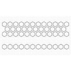 Kovinske šablone - Hexagon Pops Die-namics - My Favorite Things