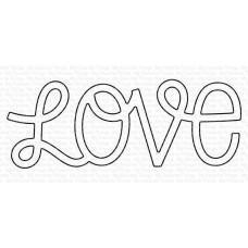 Kovinska šablona - Loopy Love - My Favorite Things