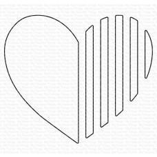 Kovinska šablona - Love Lines - My Favorite Things