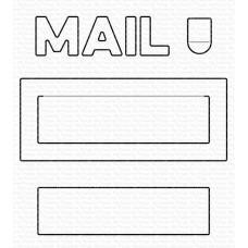 Kovinske šablone - Mail Delivery Die-namics - My Favorite Things