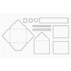Kovinske šablone - Mini Mail Die-namics - My Favorite Things