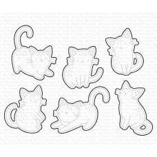 Kovinske šablone - Mini Meows Die-namics - My Favorite Things