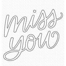 Kovinske šablone - Miss You Die-namics - My Favorite Things