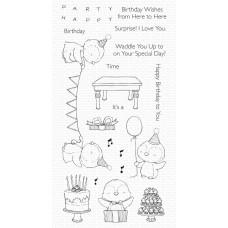 Set štampiljk - SY Penguin Party - My Favorite Things