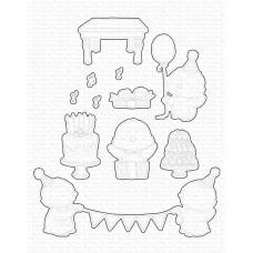 Kovinske šablone - SY Penguin Party - My Favorite Things