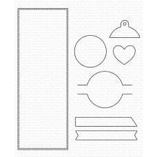 Kovinske šablone - Slimline Slide-In - My Favorite Things