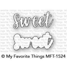 Kovinska šablona - Sweet - My Favorite Things