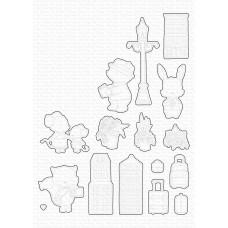 Kovinske šablone - Travel Plans Die-namics - My Favorite Things