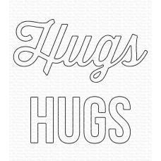 Kovinske šablone - Twice the Hugs Die-namics - My Favorite Things