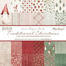Blok Papirjev Maja Design - Traditional Christmas - 6x6