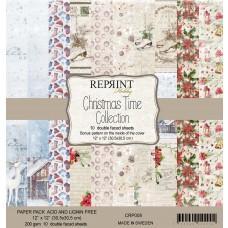 Blok Papirjev - Christmas Time Collection - 12x12 - Reprint