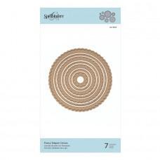 Kovinske šablone - Fancy Edged Circles - Spellbinders