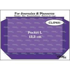 Kovinske šablone - Crea-Lies Dies for Journalzz & Plannerzz - Pocket L