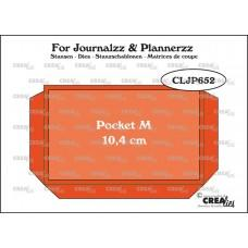 Kovinske šablone - Crea-Lies Dies for Journalzz & Plannerzz - Pocket M