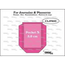 Kovinske šablone - Crea-Lies Dies for Journalzz & Plannerzz - Pocket S