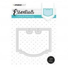 Kovinske šablone - Embossing Die Cut Stencil - Essentials Nr.120 - Studio Light