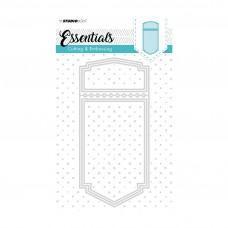 Kovinske šablone - Embossing Die Cut Stencil A6 - Essentials Nr.199 - Studio Light