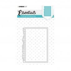 Kovinske šablone - Embossing Die Cut Stencil - Essentials Nr.200 - Studio Light